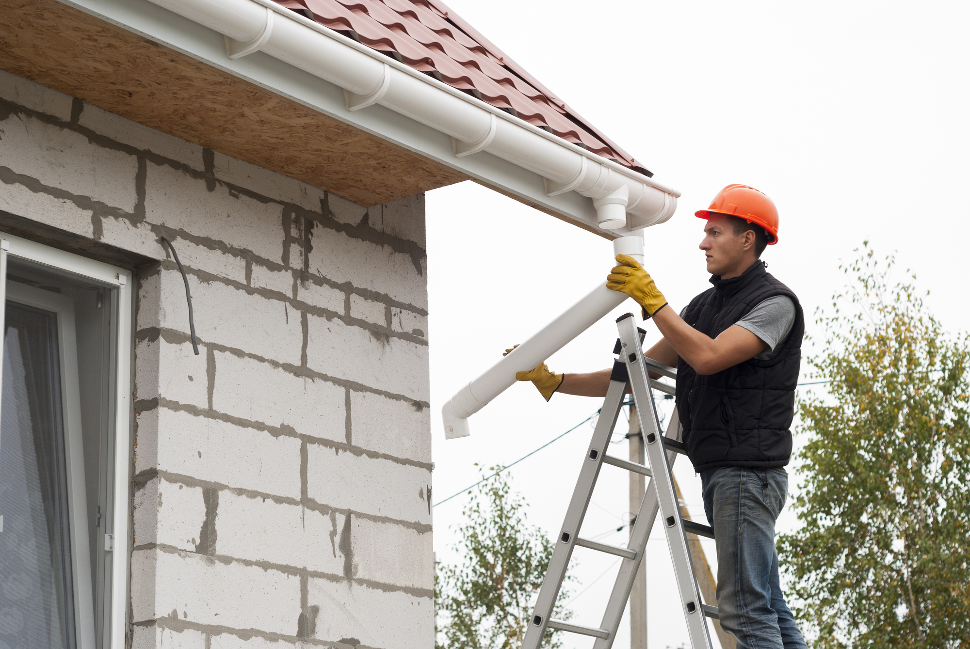 What Are Gutters Made Of? - Storm Master Gutters