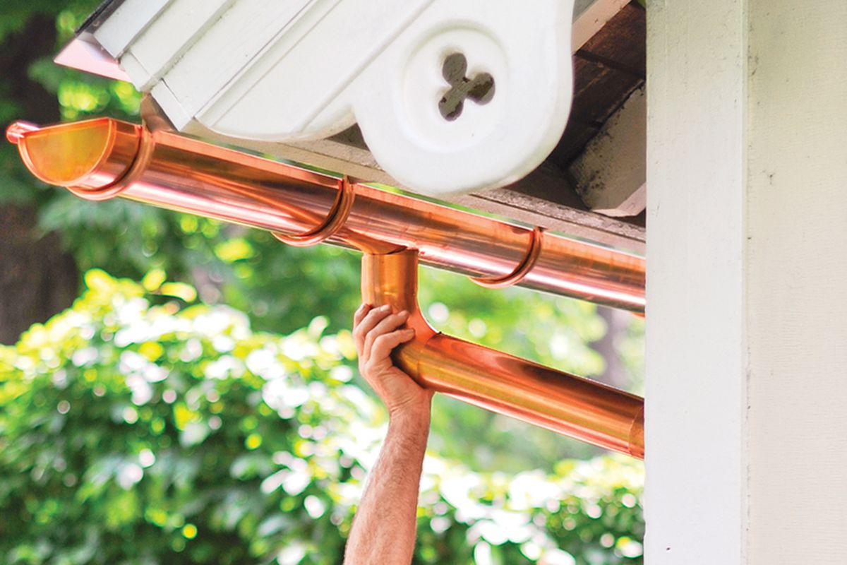 How to Install a Half-Round Gutter - This Old House