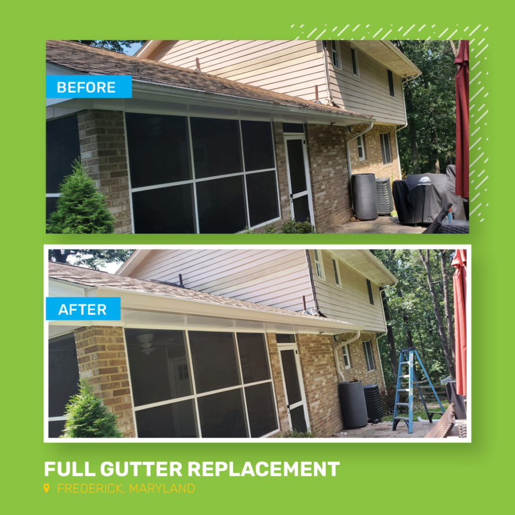 Full Gutter Replacement | Frederick, Maryland